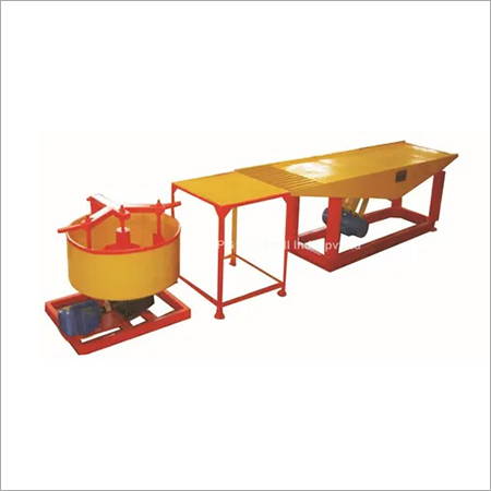 Vibratory Table Type Paver Block Machine