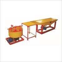 Vibratory Table Type Paver Block Machine