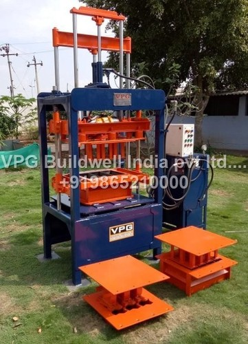 Pallet Type Paver Block Machine - VPG BUILDWELL INDIA PVT