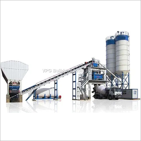 Stationary Model Concrete Batching Plant