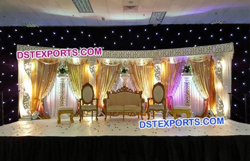 Fiber Crystal Wedding Stage