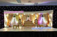 Fiber Crystal Wedding Stage