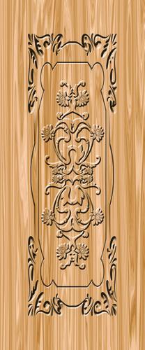 Membrane Door Print Application: Floor