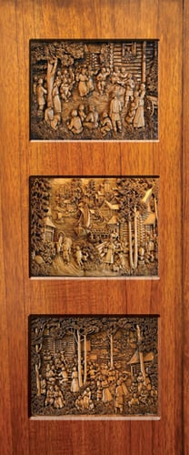 Door Skin Application: Furniture Decoration