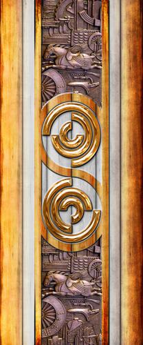 Digital Door Paper Print Application: Furniture Decoration