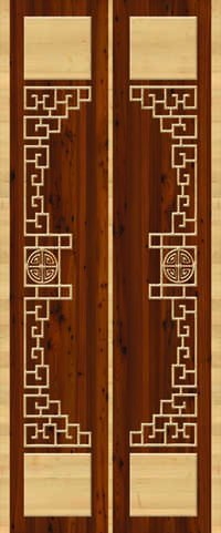Decorative Door Paper Print