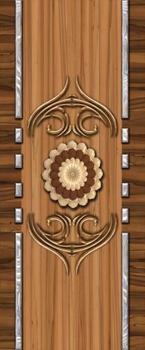 Digital Door Design Paper Print