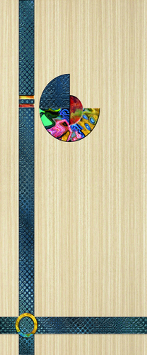 Laminated Decorative Door Paper Print