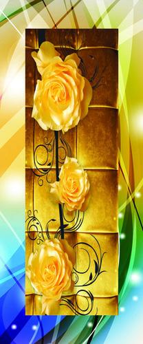 Laminated 4D Door Paper Print Application: Ceiling Decoration