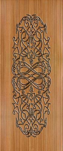 Black Micro Coated Door Paper Print Application: Furniture Decoration