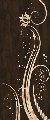Brown Decorative Door Skin