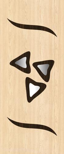 Wooden Figure Door Paper Application: Floor