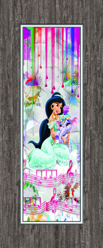 Kids Vinyl Printed Door Sheets