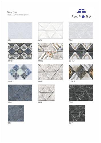 30 X 45 Wall Tiles Glossy Finish