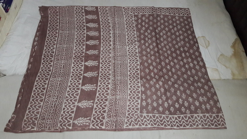 Bagru Cotton Saree