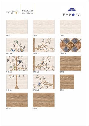 Interior Wall Tiles Glossy Finish