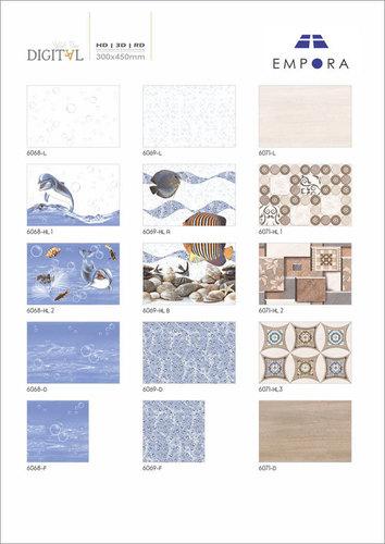 Bathroom Wall Tiles Glossy Series