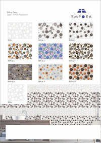 Bubbles Designer Elevation Wall Tiles 30x45