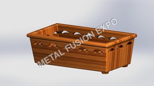 Cut Wooden Box