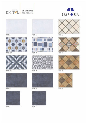 Digital Wall Tiles Glossy Series