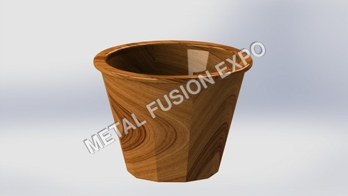 Small Size Wooden Pot
