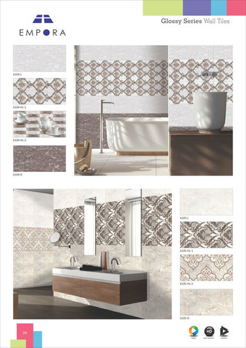 Bathroom Ceramic Marble Look Tiles Manufacturer,Exporter,Supplier ...