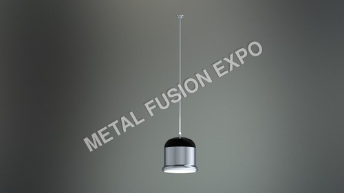 Black Coated Hanging Light