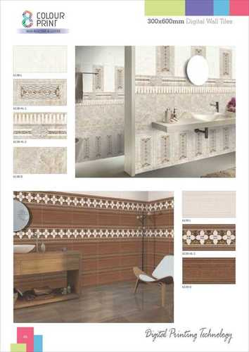 Natural Stone And Wood Finish Wall Tiles