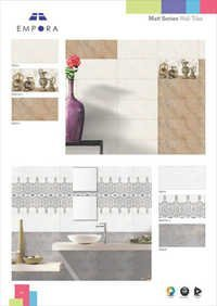 Satin White Unique Collection Wall tiles