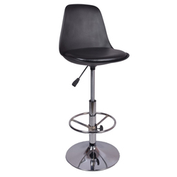 The Ergonomico Bar Stool Black