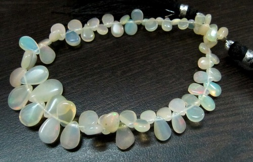 Ethiopian Opal Beads heart shape beads