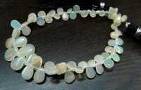 Ethiopian Opal Beads heart shape beads