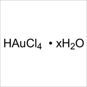 Gold chloride (CHLOROAURIC ACID)