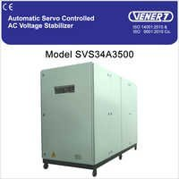 500kVA Automatic Servo Controlled Air Cooled Voltage Stabilizer