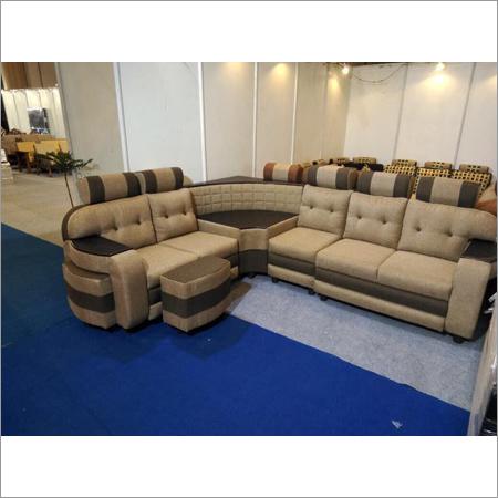 Living Room Leather Sofa Set
