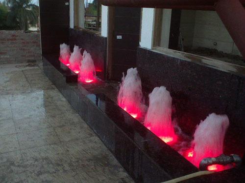 Outdoor Geyser Jet Fountains