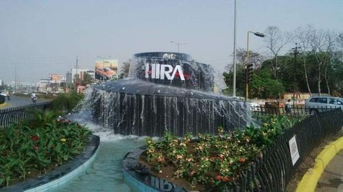 Outdoor Spiral Fountain