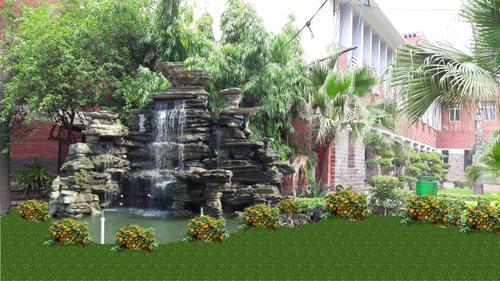 Outdoor Natural Fountain