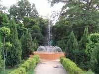 Outdoor Crowe doom fountain