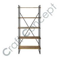 WOOD & IRON SHELF