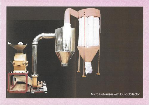 Micro Pulverizer with Dust Collector