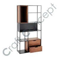 BLACK IRON SHELF