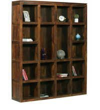 Hollydale Bookcase Teak Finish