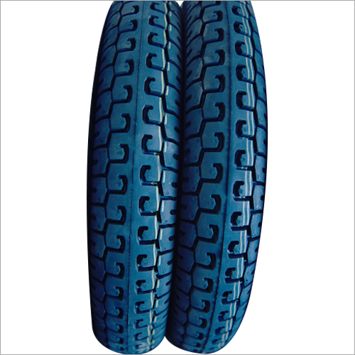 Two Wheeler Rubber Black Tyre