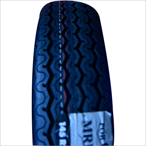 MRF Car Rubber Black Tyre
