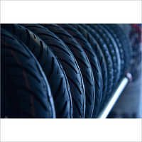 Scooter Rubber Black Tyre