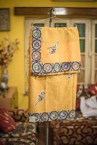 Designer Cotton khesh Saree
