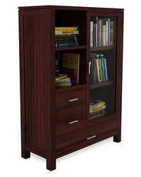 Bergen Bookcase (Mahogany Finish)