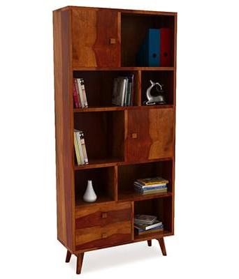 Duke Bookcase (Honey Finish)