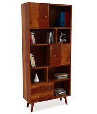 Duke Bookcase (Honey Finish)